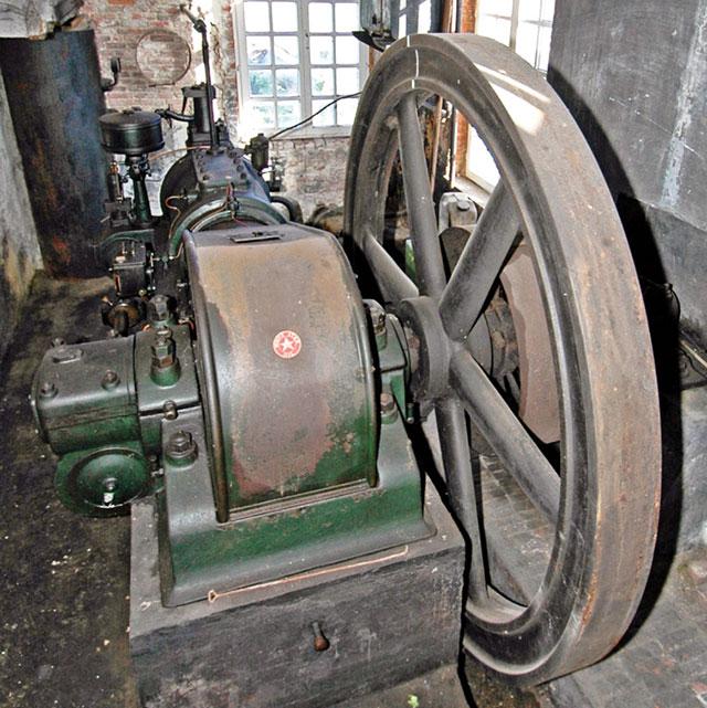 dieselmotor maalderij
