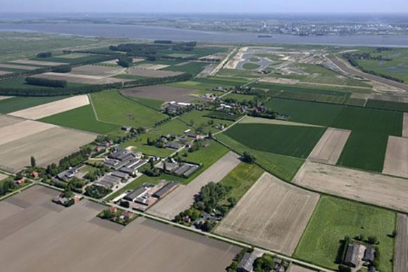 prosperpolder luchtfoto
