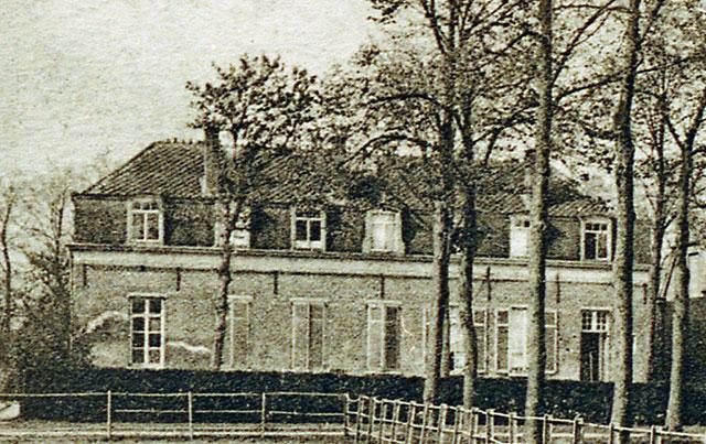 Prosperhoeve omstreeks 1914